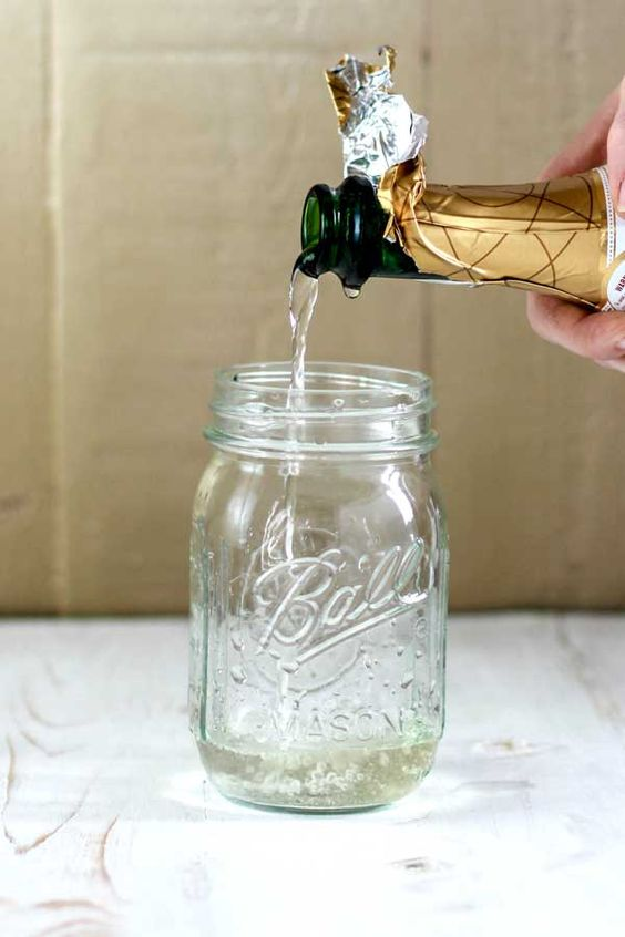How to Make Champagne Vinegar - put that flat leftover champagne to good use!