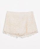 GUIPURE LAYER SHORTS - Trousers - WOMAN - SALE | ZARA Canada