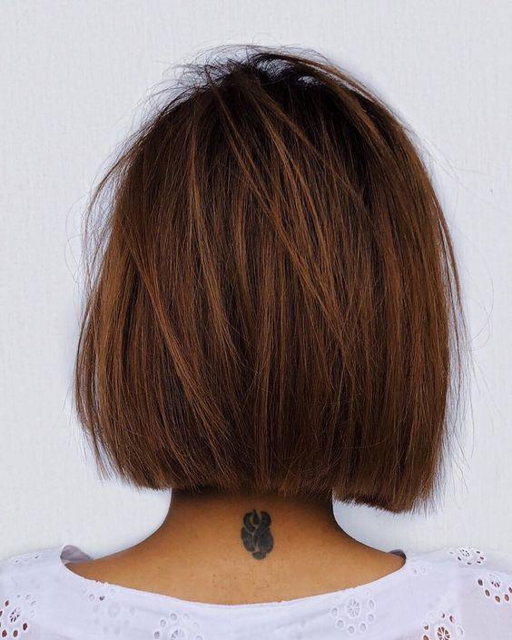 Pour les cheveux bruns: Coiffures blondes Êtes-vous prêt à partir à la découverte de vos cheveux bruns et blonds? L'automne est composé de tons chauds… Si le temps se rafraîchit et ... cheveux émoussés