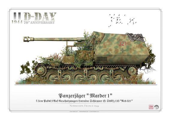 """Panzerjäger   """"Marder-1"""""""