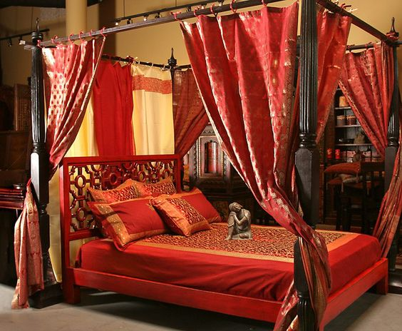 Middle Eastern Bohemian Indian Exotic Canopy Bed There S Just Something Sexy About A Canopy Bed