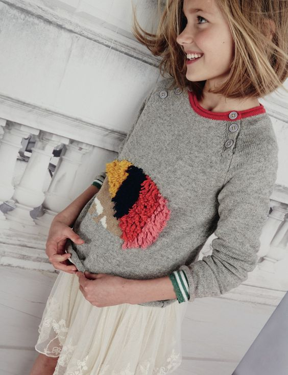 Sweet applique textured creature knit at mini boden kids for Mini boden winter 2016