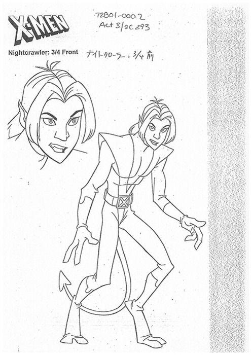 Nightcrawler From X Men Evolution Old Cartoon Characters X Men Evolution Cartoon Character Design
