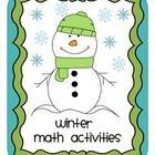Winter Themed Math Fun Activities and Games, 3rd Grade Com  $6.00