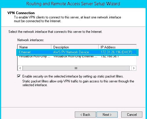 Setup Vpn Server Windows 2012 R2