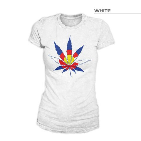 Colorado Flag Marijuana | Colorado Marijuana Leaf | Colorado Flag Pot – Fearless State