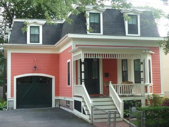 Best Black Garage Doors Mansard Roof And Street On Pinterest 400 x 300