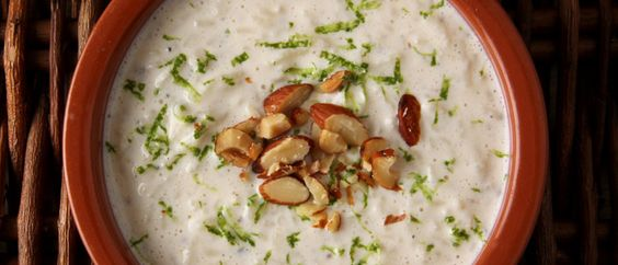 Recipe for coconut cardamom rice pudding. Must try this some time.