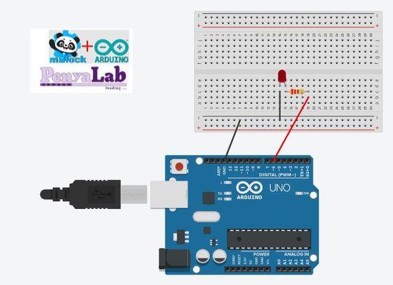 Arduino + mBlock – Engega i apaga un LED