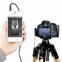 WANT. The ioShutter Camera Remote - Turn your iPhone, iPad, or iPod Touch into a 6-in-1 intelligent remote trigger for your camera. ($70.00, http://photojojo.com/store)