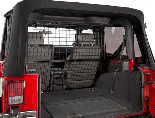 Jeep Travel Bestop Custom Pet Barrier For Jeep Powder Coated Steel Bestop Vehicle Organizer B4250101 In 2020 Jeep Wrangler Jk Jeep Wrangler Unlimited Pet Barrier