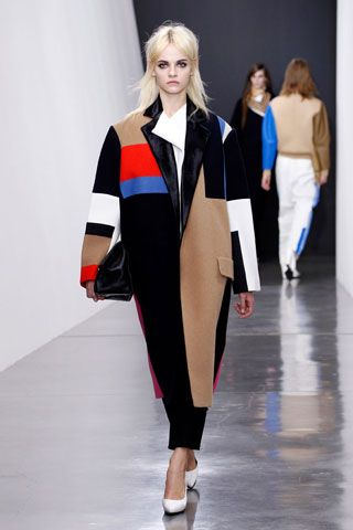 oversized coat done in style    Celine Fall 2012 RTW
