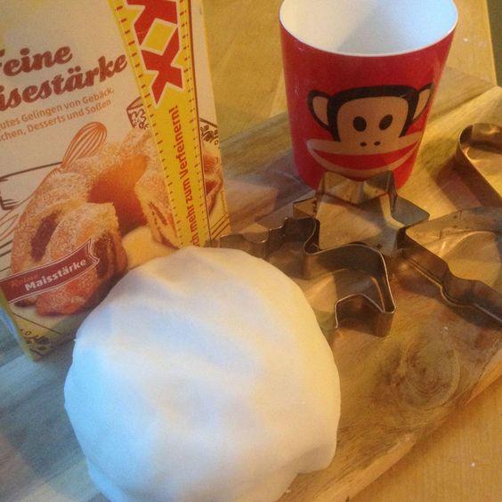 diy-weihnachtsdeko aus speisestärke-natron-teig :-) | advent, Innenarchitektur ideen
