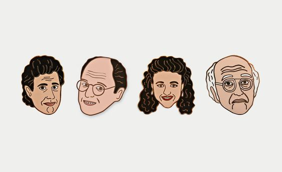 Georgia Perry Seinfeld Pins | Cool Material: