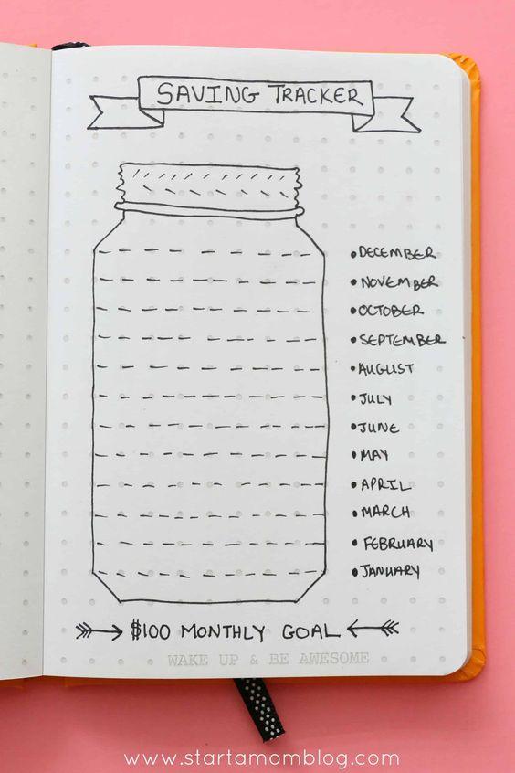 Yearly Savings Tracker