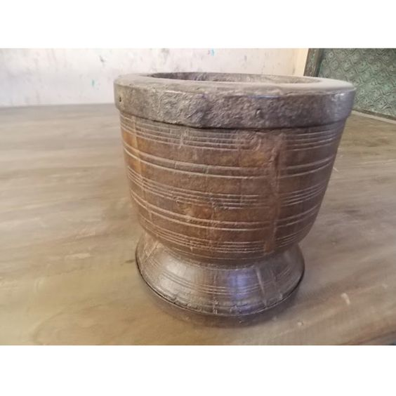 Old Wood Mortar