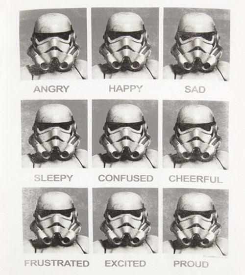 storm trooper emotions