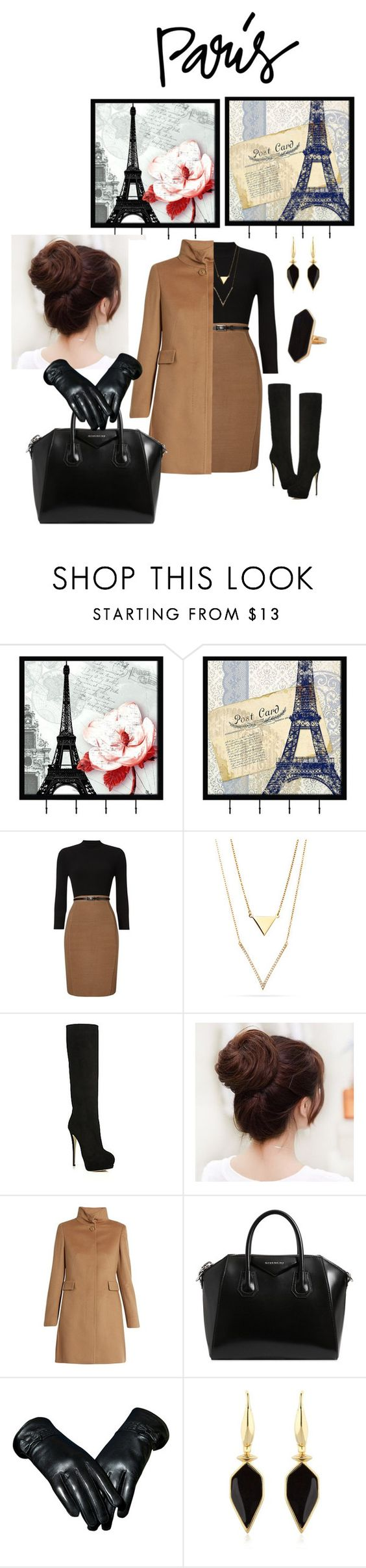 """""""Untitled #560"""" by armsdani ❤ liked on Polyvore featuring Universal Lighting and Decor, Phase Eight, Giuseppe Zanotti, MaxMara, Givenchy, Isabel Marant and Jaeger"""