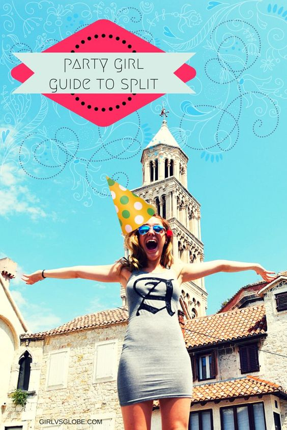 awesome #Party #girl guide to #Split, #Croatia! #nightlife #travel...