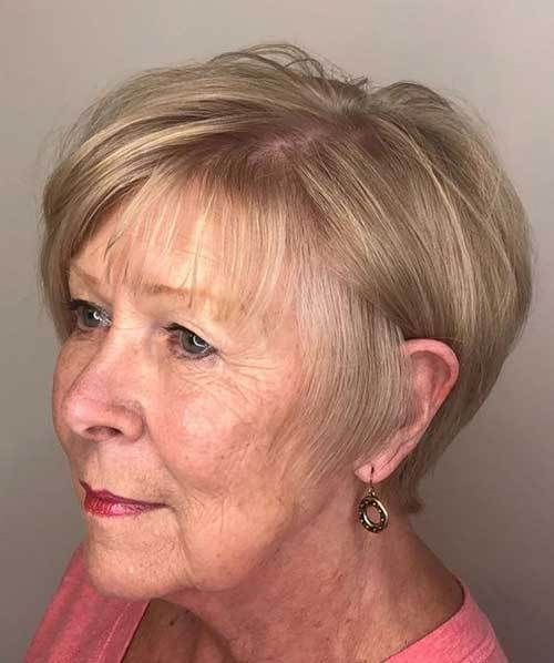 Short Hairstyles For Older Women With Thin Hair In 2020 Short Hairstyles Fine Cool Hairstyles Older Women Hairstyles