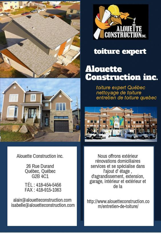 Alouette construction (alouettecon) on Pinterest