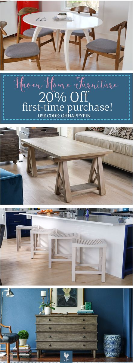 Haven Home Furniture For Dining Room Living Room Home Decor Dining Table