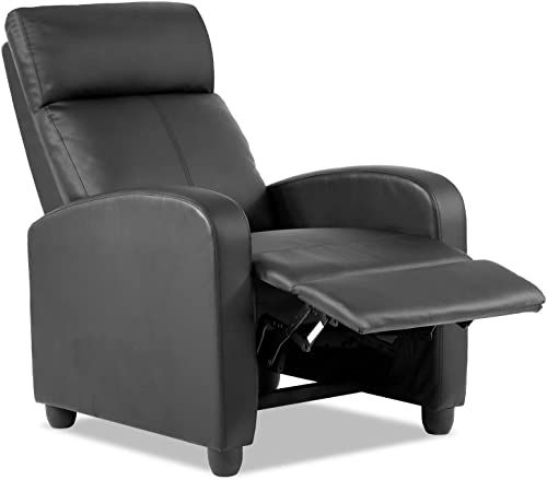 Buy Vnewone Recliner Chair Living Room Lounge Chaise Wingback Single Sofa Modern Home Theater Seating Black Online Lovetopfashion In 2020 Living Room Lounge Living Room Chairs Black Furniture Living Room
