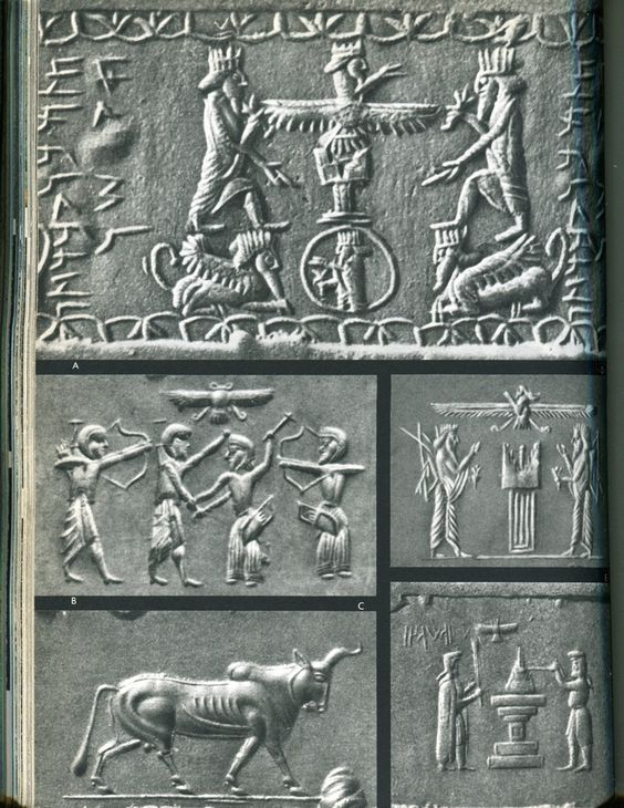 Nergal / Erra, Son To Enlil & Ninlil, Some Texts Son To Enki & Inanna, Lord of the Under World, Slide Show:   Mesopotamian Gods & Kings