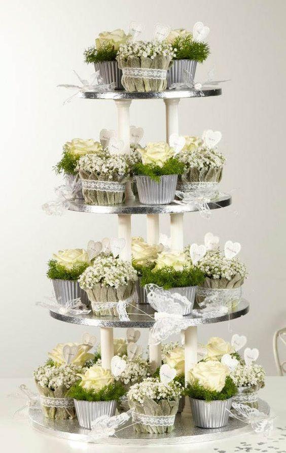 Cupcake Flowers wie niedlich
