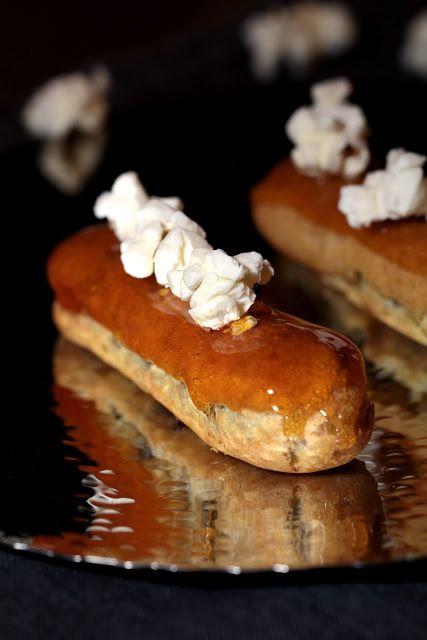 On dine chez Nanou | Eclair caramel pop corn du dernier numéro de Yummy (recette de Christophe Adam) |          Durant les vacances de la Toussaint nous allons profiter d'une journée à Paris pour all...