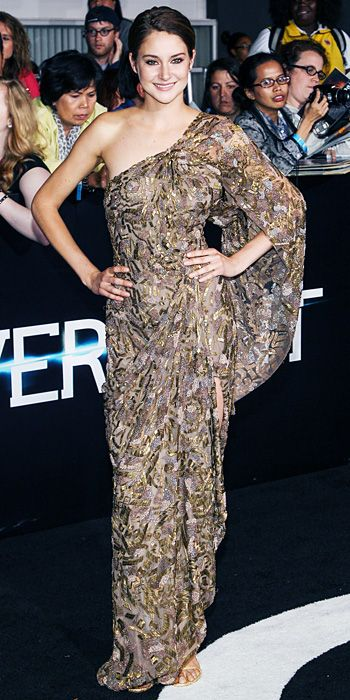 Shailene Woodley's Best Looks From The Divergent Promotional Tour - Los Angeles Premiere from #InStyle