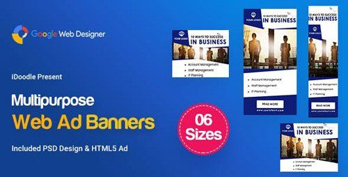 CodeCanyon - C22 - Multipurpose Business Startup Banners