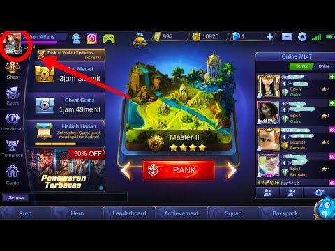 Mobile Legends Cara Aktifkan Mode Live Streaming Ke Youtube Dan Facebook Youtube Youtube Facebook Video