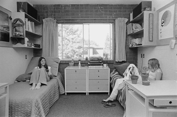 1960's dorm rooms