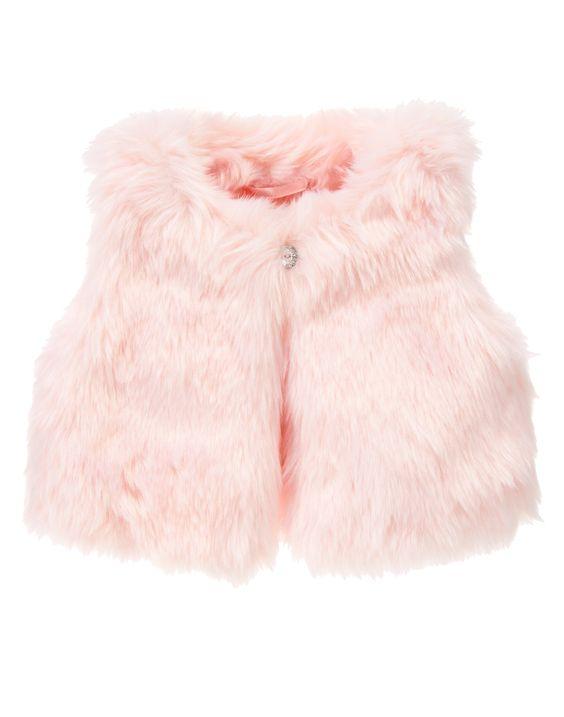 Furry Vest at Gymboree
