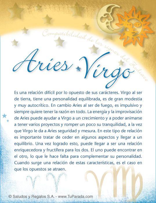 Aries Con Virgo Compatibilidad De Aries Tarjetas Postales Gratis Feliz Día Nombres Fotos Imágenes F Piscis Y Tauro Virgo Compatibilidad Tauro Y Cáncer