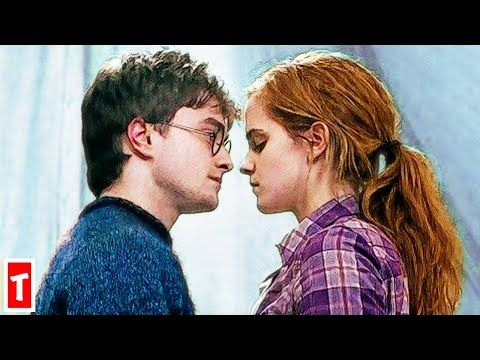 The Real Reason Harry Potter And Hermione Didn T End Up Together Youtube Harry Potter Kiss Harry Potter Ginny Harry Potter Ginny Weasley