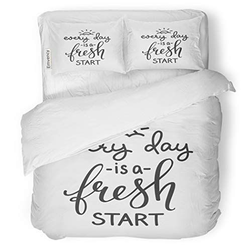 Sanchic Duvet Cover Set Lettering Quotes Motivation For Life And