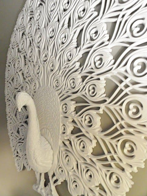 wall sculpture.: