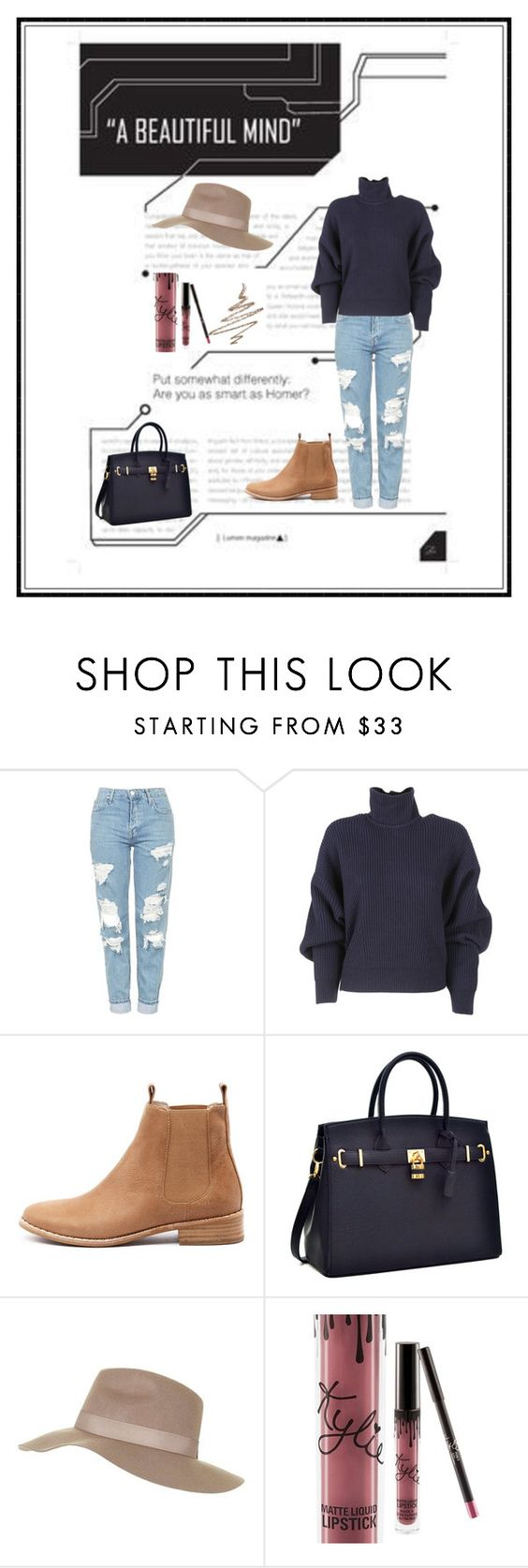 """""""Untitled #527"""" by haya-kamel1 ❤ liked on Polyvore featuring Topshop, Balenciaga, Mollini, Kylie Cosmetics and Anastasia Beverly Hills"""