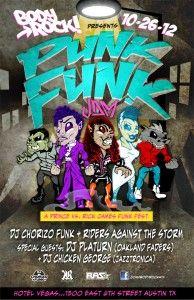 Tonight! Body Rock's Punk Funk - #RickJames vs #Prince   #Halloween #Austin