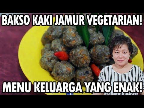 Resep Bakso Kaki Jamur Yang Enak Youtube Jamur Bakso Resep