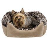 Found it at Wayfair - Cuffed Box Nest Dog Bed