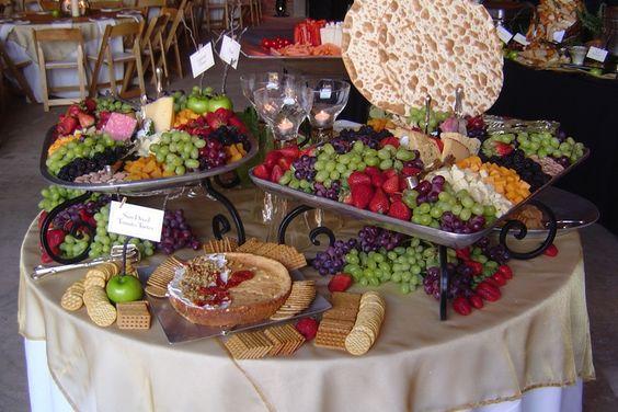 Cute Food Table Set Up