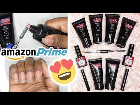 Testing A Polygel Nail Kit From Amazon Prime Gershion Poly Nail