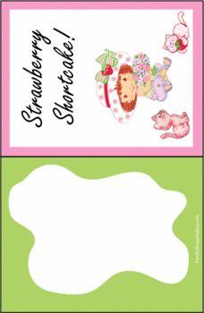 Strawberry Shortcake Invitations
