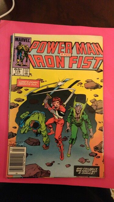 Power Man and Iron Fist #118 Jul 85