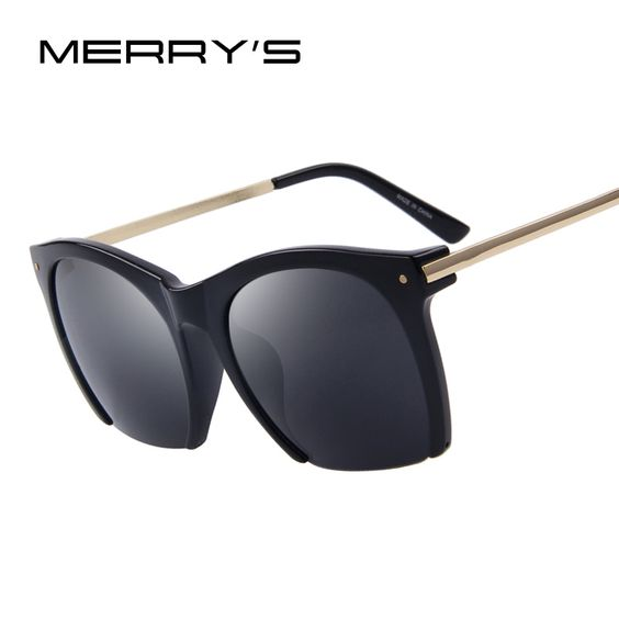 f375b7d508 MERRY S Fashion Women Sunglasses Classic Semi-Rimless Shades Brand Designer  Sun glasses UV400
