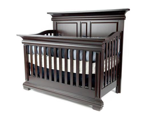 Majestic - Majestic Full Panel Lifetime Crib in Espresso - 6899 - Munire Furniture
