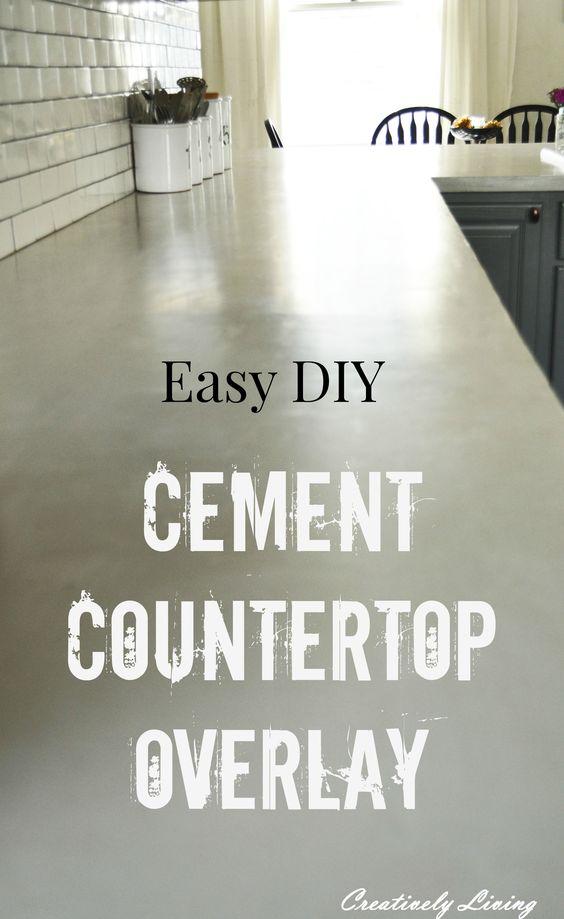 Cement Countertop Overlay Post